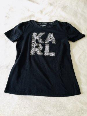 Karl Lagerfeld  nero-bianco Cotone