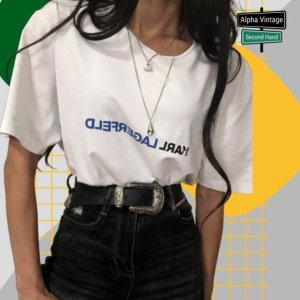 Karl Lagerfeld T-Shirt Oberteil Top T-Shirt | L