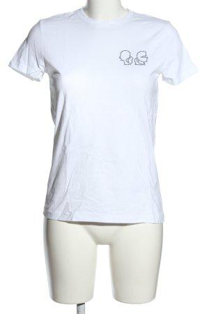 Karl Lagerfeld T-Shirt weiß Casual-Look