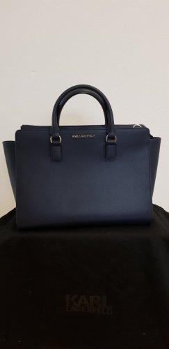 Karl Lagerfeld Carry Bag blue
