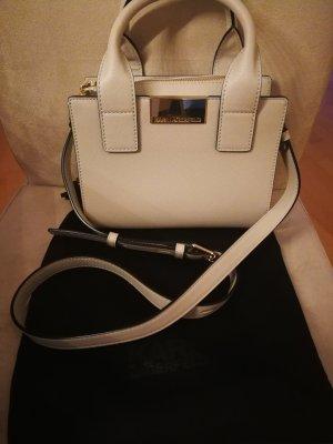 Karl Lagerfeld Minibolso beige claro