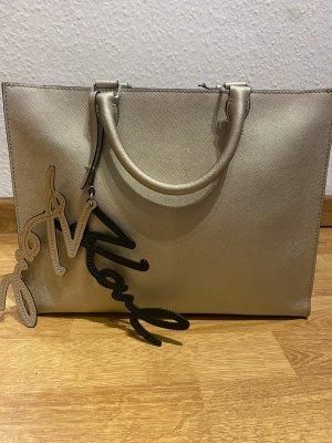 Karl Lagerfeld Handbag sand brown polyurethane