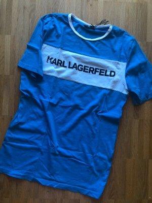 Karl Lagerfeld Tshirt S 36 neu blau