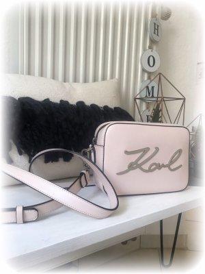 Karl Lagerfeld Umhängetasche mit Karl Schriftzug, Modell Camara bag