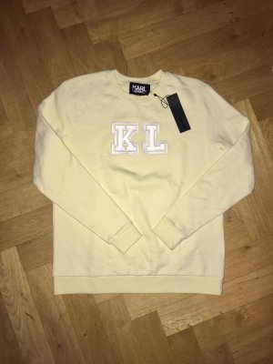 Karl Lagerfeld weicher gelber Pullover