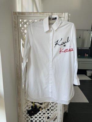 Karl Lagerfeld Camicia a maniche lunghe multicolore Cotone