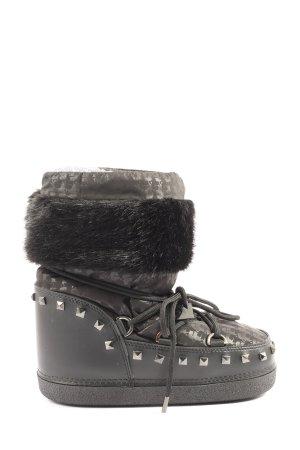 Karl Lagerfeld Winter-Stiefeletten schwarz Casual-Look