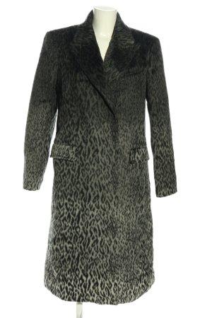 Karl Lagerfeld Wintermantel hellgrau Allover-Druck Business-Look