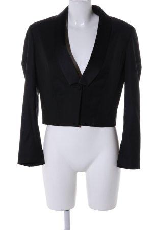 Karl Lagerfeld Wollen blazer zwart zakelijke stijl