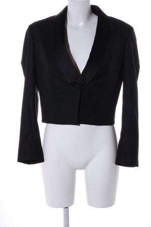 Karl Lagerfeld Woll-Blazer schwarz Business-Look