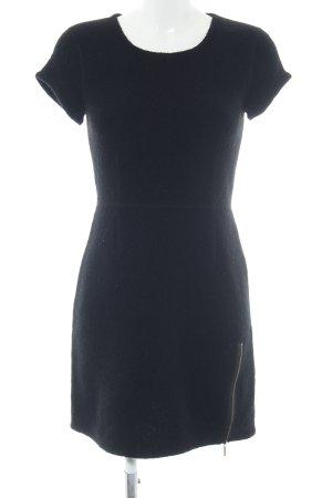 Karl Lagerfeld Vestido de lana negro estilo «business»