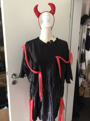 Sukienka z frędzlami Wielokolorowy