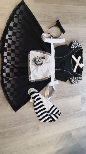 Ladies' Suit white-black