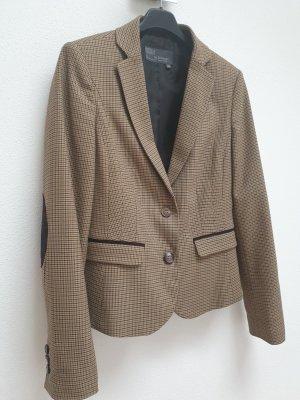 Zabaione Korte blazer grijs-bruin-lichtbruin