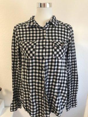 Jeans Fritz Flannel Shirt black-white