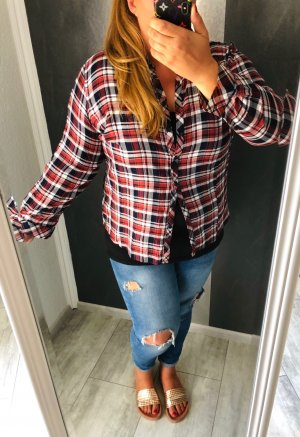 Bexleys Checked Blouse multicolored