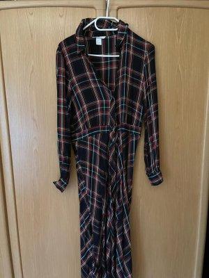 Karo-Hemdblusenkleid Größe 36