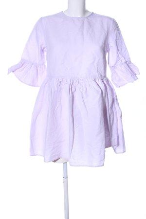 Minikleid lila Casual-Look