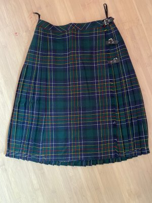 Hammer Pleated Skirt dark green