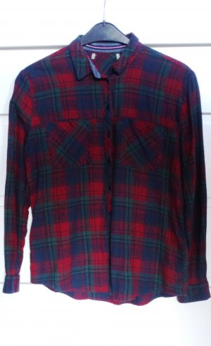 Clockhouse Checked Blouse multicolored