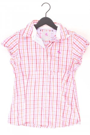 Checked Blouse light pink-pink-pink-neon pink cotton