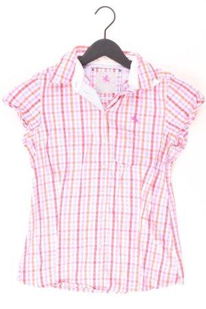 Blouse à carreaux rose clair-rose-rose-rose fluo coton