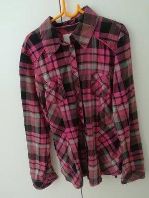 de.corp by Esprit Geruite blouse veelkleurig