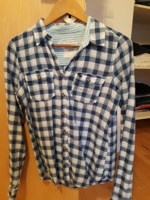 Abercrombie & Fitch Long Sleeve Shirt multicolored linen