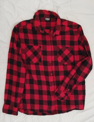 Urban Classics Flanelowa koszula Wielokolorowy Bawełna