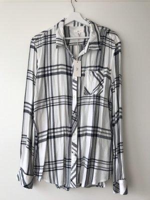 BLL New York Camicia a scacchi bianco