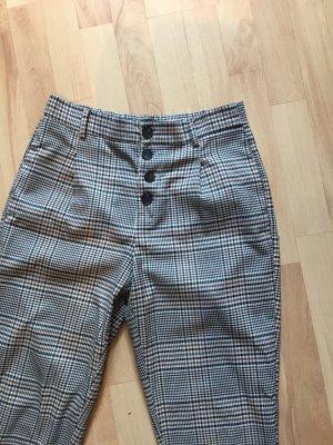 Zara Trafaluc Pantalon taille haute multicolore