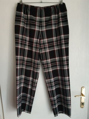 Pantalón tipo suéter multicolor