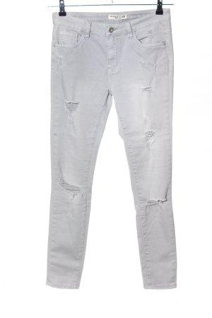 Karostar Jeans elasticizzati grigio chiaro stile casual