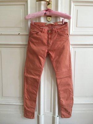 Zara Wortel jeans zalm
