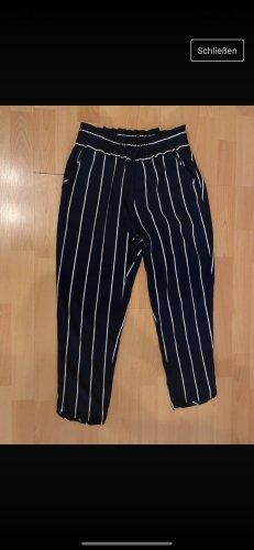 Zara Peg Top Trousers dark blue