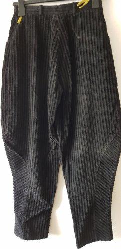 Pantalón de pinza alto negro