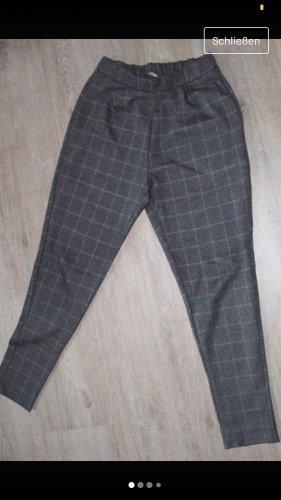 Pull & Bear Pantalón de pinza alto multicolor