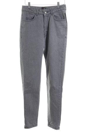 Wortel jeans grijs casual uitstraling
