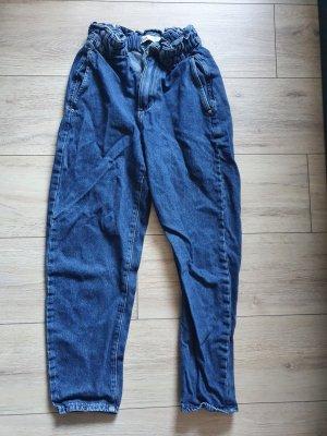 Zara Carrot Jeans steel blue