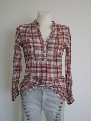 Cheer Checked Blouse multicolored cotton