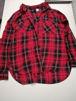 H&M Houthakkershemd veelkleurig