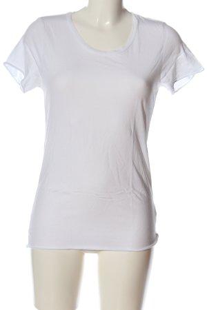 KARSSEN T-Shirt weiß Casual-Look