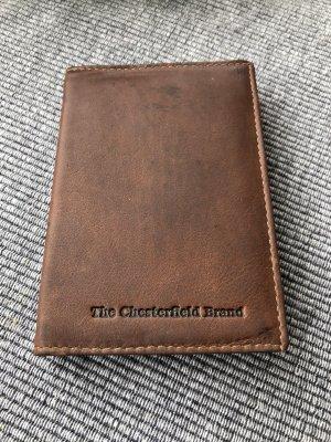 The Chesterfield Brand Porte-cartes cognac-brun cuir