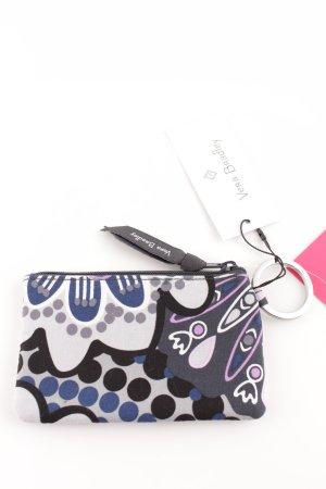 Porte-cartes motif abstrait style décontracté