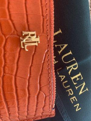 Ralph Lauren Custodie portacarte arancione