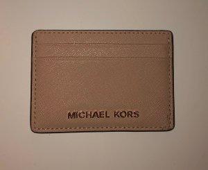 Michael Kors Porte-cartes doré-beige