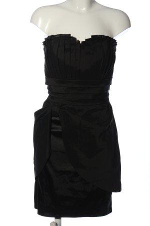 Kartes schulterfreies Kleid schwarz Elegant