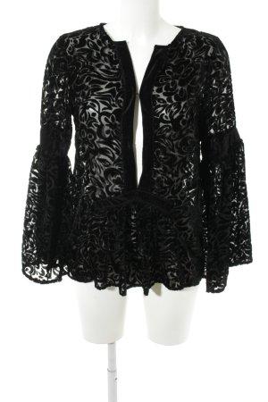 KAS NEWYORK Tunikabluse schwarz Elegant