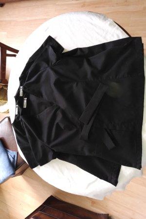 Kimono noir polyester