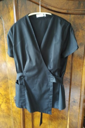 Kimono negro Poliéster